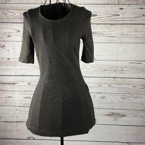 Philosophy Women's Grey Bodycon 3/4 Sleeves